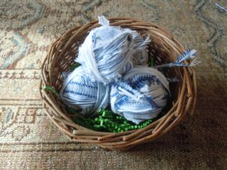 Basket of Rag Balls