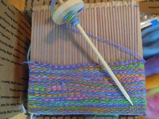 Cardboard Weaving