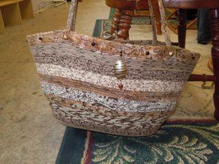 Yvonne's Fabric-Strip Bag