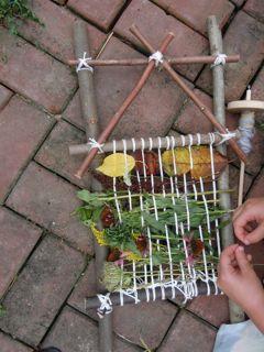 Ellie's garden loom